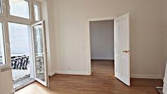 Sonniges Willkommen in der Wohnung-Nr. 3